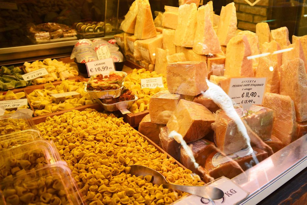 Turns out Emilia Romagna- the provence Bologna is located in- is the home of tortellini and parmesan! No wonder I liked it!